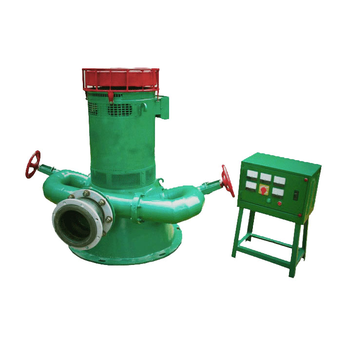 1-100kW Dual-Nozzle inclined type hydrogenerator