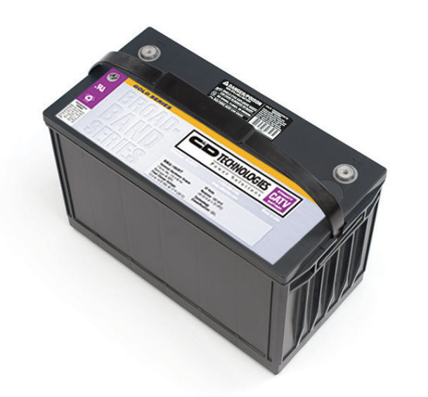 C&D 7-242AH LBT series battery